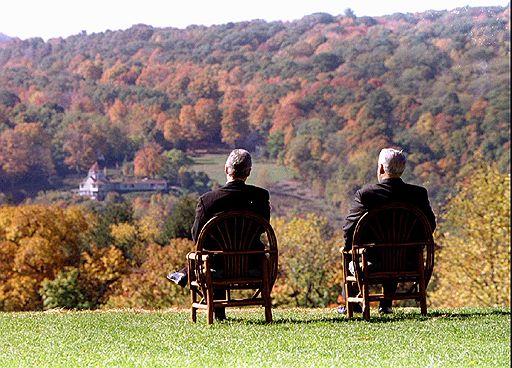 Борис Ельцин и Билл Клинтон. Фото © Reuters