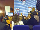 Б.Грызлов даёт комментарии к предварительным итогам выборов