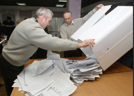 Выборы. Иллюстрация © АиФ