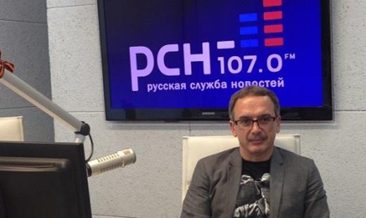 Андрей Ильницкий на радио РСН