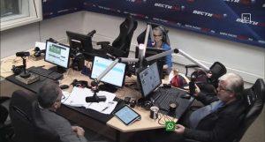 """Андрей Ильницкий в эфире радиостанции """"Вести ФМ"""""""